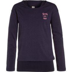 Bench 2IN1 Bluzka z długim rękawem essentially navy. Szare bluzki dziewczęce bawełniane marki Bench, z kapturem. W wyprzedaży za 135,20 zł.
