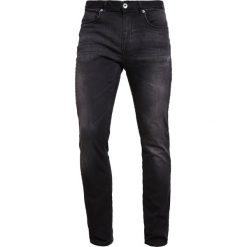 Jeansy męskie: Selected Homme SHNTWOMARIO  Jeansy Slim fit black