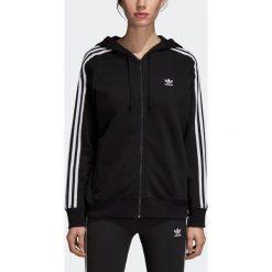 Bluza adidas W 3Stripes Zip Hoodie (DN8151). Czarne bluzy damskie marki Alpha Industries, z materiału. Za 239,99 zł.