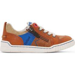Trampki Winchester. Niebieskie buty sportowe chłopięce marki Kickers, z kauczuku, na sznurówki. Za 366,24 zł.