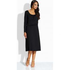 Sukienki balowe: Zwiewna elegancka sukienka czarna