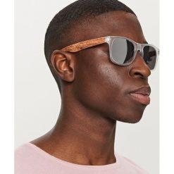 Okulary przeciwsłoneczne - Biały. Białe okulary przeciwsłoneczne damskie lenonki Reserved. Za 39,99 zł.