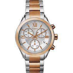 Zegarek Timex Damski  TW2P93800 Chronograf srebrno-złoty. Szare zegarki damskie Timex, złote. Za 424,99 zł.