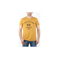 """T-shirty z krótkim rękawem Lee  T-Shirt Męski  Convention Tee """"Safron"""". Niebieskie t-shirty męskie marki Adidas, m. Za 79,00 zł."""