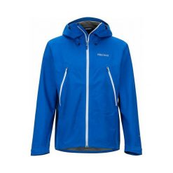 Marmot Kurtka Męska Knife Edge Jacket Dark Cerulean Xl. Niebieskie kurtki sportowe męskie Marmot, m, z gore-texu, outdoorowe, gore-tex. Za 995,00 zł.