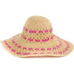 Kapelusz damski Beauty brązowo różowy. Brązowe kapelusze damskie Art of Polo. Za 40,31 zł.