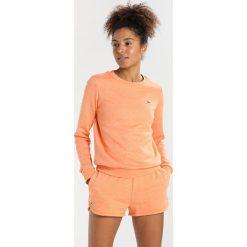 Lacoste Sport Bluza orange jaspe. Brązowe bluzy damskie Lacoste Sport, z bawełny. Za 389,00 zł.