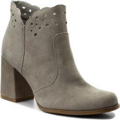 Botki LASOCKI - 5037-03 Szary. Szare buty zimowe damskie Lasocki, ze skóry. Za 249,99 zł.