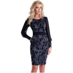 Natalee Sukienka Damska, M, Ciemnoszara. Czarne sukienki z falbanami Natalee, m, eleganckie. Za 219,00 zł.