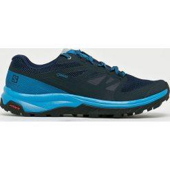 Salomon - Buty Outline GTX. Szare buty trekkingowe męskie Salomon, z gore-texu, na sznurówki, outdoorowe, gore-tex. W wyprzedaży za 499,90 zł.