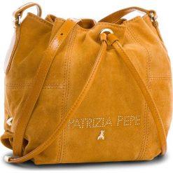 Torebka PATRIZIA PEPE - 2V8368/A4M9-F1UW Citrus/Natural Beige. Brązowe torebki klasyczne damskie marki Patrizia Pepe, ze skóry. W wyprzedaży za 799,00 zł.