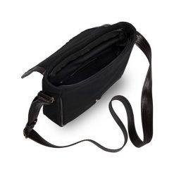Torby na ramię męskie: Skórzana torba na ramię / tablet Solier VITOR czarna