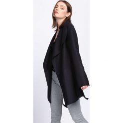Płaszcze damskie pastelowe: Czarny Płaszcz All Right Now