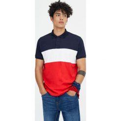 Koszulki polo: Koszulka polo z krótkim rękawem i panelami