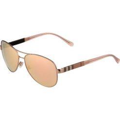 Okulary przeciwsłoneczne damskie: Burberry Okulary przeciwsłoneczne matte goldcoloured