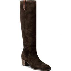 Kozaki GANT - Sandra 15583059 Dark Brown G46. Brązowe buty zimowe damskie GANT, ze skóry. W wyprzedaży za 549,00 zł.