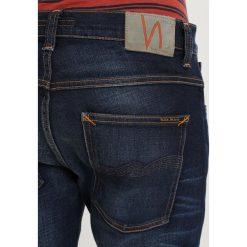 Nudie Jeans GRIM TIM Jeansy Slim Fit dark deep worn. Czarne jeansy męskie marki Criminal Damage. Za 579,00 zł.