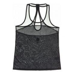Roxy Koszulka Sportowa Moonshine Tank True Black M. Czarne bluzki sportowe damskie marki Roxy, m. W wyprzedaży za 109,00 zł.