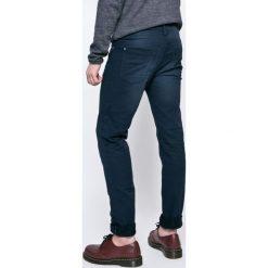 Blend - Jeansy. Brązowe jeansy męskie z dziurami marki Blend, l, z bawełny, bez kaptura. W wyprzedaży za 129,90 zł.