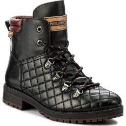 Botki PIKOLINOS - W4J-8865 Black. Czarne buty zimowe damskie Pikolinos, z materiału. W wyprzedaży za 379,00 zł.