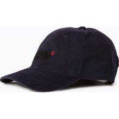 Superdry - Męska czapka z daszkiem, niebieski. Niebieskie czapki z daszkiem męskie Superdry. Za 99,95 zł.
