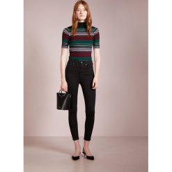 7 for all mankind AUBREY  Jeans Skinny Fit illusion luxe rinsed black. Czarne boyfriendy damskie 7 for all mankind, z bawełny. W wyprzedaży za 587,30 zł.