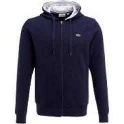 Lacoste Sport Bluza rozpinana navy blue/silver chine. Niebieskie bejsbolówki męskie Lacoste Sport, m, z bawełny. Za 409,00 zł.