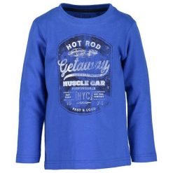 Blue Seven Koszulka Chłopięca Z Nadrukiem 110 Niebieski. Niebieskie t-shirty chłopięce z nadrukiem Blue Seven. Za 49,00 zł.