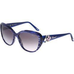 """Okulary przeciwsłoneczne damskie: Okulary przeciwsłoneczne """"SCH147S 06WR"""" w kolorze niebieskim"""