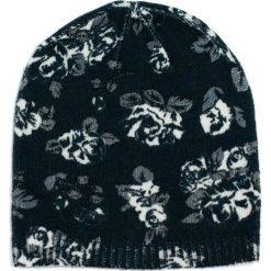 Czapka damska Floral dream czarna (cz15312). Czarne czapki zimowe damskie Art of Polo. Za 38,41 zł.