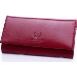 Ekskluzywny portfel damski Paolo Peruzzi - kopertówka ze skóry licowej. Żółte puzderka marki Paolo Peruzzi, ze skóry, eleganckie. Za 159,90 zł.