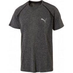 Puma Koszulka Sportowa Evoknit Basic Tee Black Heather. Brązowe koszulki do fitnessu męskie Puma, m. W wyprzedaży za 99,00 zł.