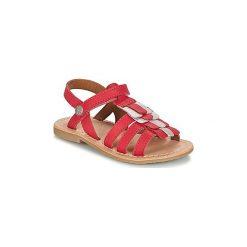 Sandały Dziecko  Aster  CORELLE. Czerwone sandały dziewczęce marki ASTER. Za 239,20 zł.
