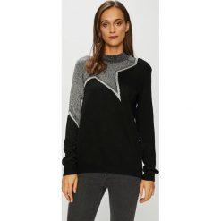 Jacqueline de Yong - Sweter Bright Star. Czarne swetry klasyczne damskie Jacqueline de Yong, l. W wyprzedaży za 59,90 zł.