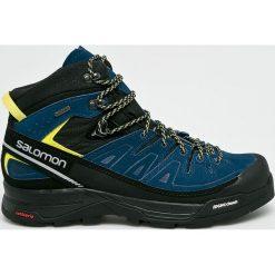 Salomon - Buty X Alp Mid Ltr GTX. Brązowe buty trekkingowe męskie Salomon, z gore-texu, na sznurówki, outdoorowe, gore-tex. W wyprzedaży za 679,90 zł.