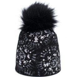 Czapka damska Zimowe słońce czarna. Czarne czapki zimowe damskie marki Art of Polo, na zimę. Za 47,34 zł.