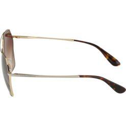 Dolce&Gabbana Okulary przeciwsłoneczne gold. Żółte okulary przeciwsłoneczne damskie lenonki Dolce&Gabbana. Za 839,00 zł.