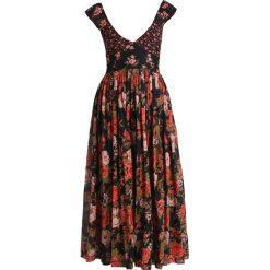 Free People LOVE YOU MIDI Długa sukienka black. Czarne długie sukienki marki Free People, z bawełny, z długim rękawem. W wyprzedaży za 496,30 zł.