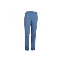 Spodnie do siatkówki V 100 damskie, niebieskie. Czarne bryczesy damskie marki KIPSTA, m, z elastanu, z długim rękawem, na fitness i siłownię. Za 44,99 zł.