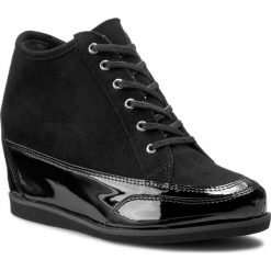 Sneakersy OLEKSY - 2053 542/147 Czarny Lakier/Czarny Zamsz. Szare botki damskie skórzane marki Oleksy. W wyprzedaży za 269,00 zł.