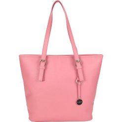 """Torebki klasyczne damskie: Torebka """"Carol"""" w kolorze różowym – 32 x 30 x 13 cm"""