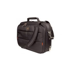 Torba do laptopa Addison City Classic CCC14UF. Czarne torby na laptopa Addison, w paski, z nylonu. Za 130,99 zł.