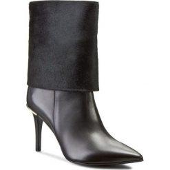 Botki GINO ROSSI - Savona DBG503-L11-3V5X-9999-0 99/99. Czarne buty zimowe damskie Gino Rossi, ze skóry. W wyprzedaży za 439,00 zł.
