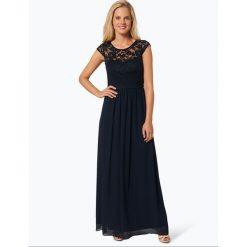 Marie Lund - Damska sukienka wieczorowa, niebieski. Niebieskie sukienki balowe marki Marie Lund, z szyfonu. Za 749,95 zł.