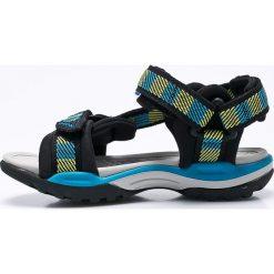 Geox - Sandały dziecięce. Szare sandały chłopięce Geox, z gumy. W wyprzedaży za 239,90 zł.