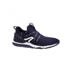Buty męskie do szybkiego marszu PW 140 niebiesko-białe. Niebieskie buty fitness męskie marki NEWFEEL, z poliesteru. Za 79,99 zł.