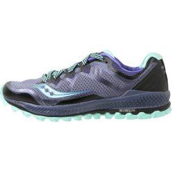 Saucony PEREGRINE 8 Obuwie do biegania Szlak grey/violet /aqua. Fioletowe buty do biegania damskie Saucony, z materiału. Za 569,00 zł.