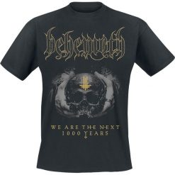 Behemoth We Are The Next 1000 Years T-Shirt czarny. Czarne t-shirty męskie z nadrukiem marki Caliban, s. Za 79,90 zł.