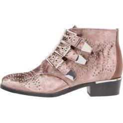 Botki damskie lity: Bronx Ankle boot winter pink
