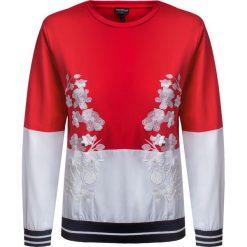 Bluzy rozpinane damskie: Bluza SPORTALM SIENNA Biały|Czerwony